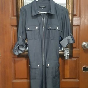 NWT-Sharagano Zipper Dress-Women's 10